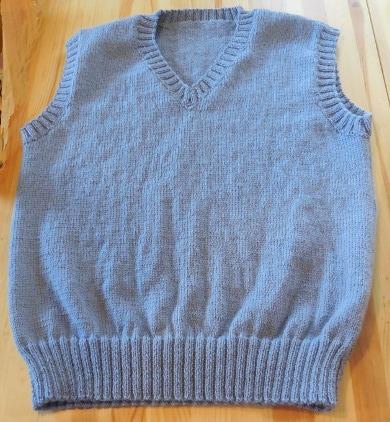 debardeur homme tricot