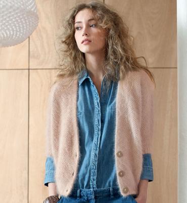 modele tricot gilet femme