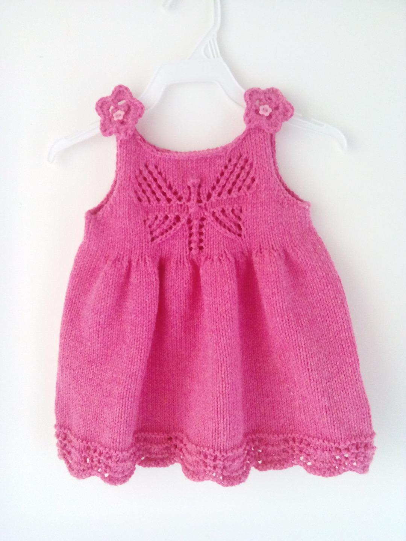 modele tricot robe 9 mois
