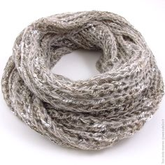 patron tricoter foulard tube