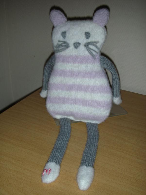 Apparence mod le doudou chat tricot gratuit - Animaux en tricot facile ...