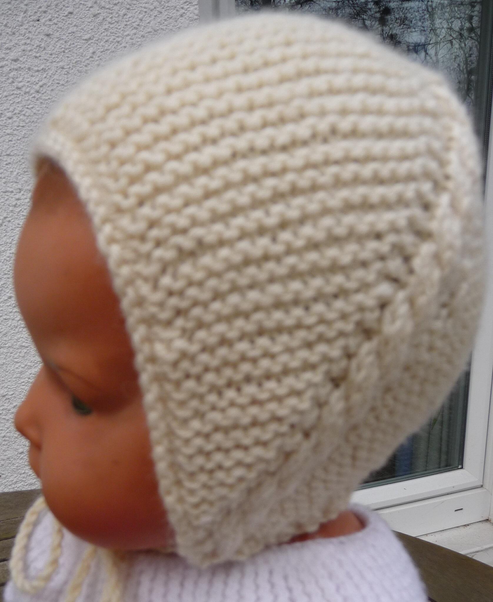 bonnet layette tricot gratuit