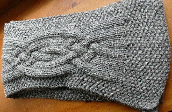 modèle tricot echarpe femme