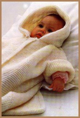 Apparence mod le tricot nid d ange b b gratuit - Patron nid d ange bebe gratuit ...