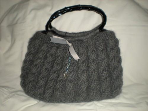 modele tricot sac a main