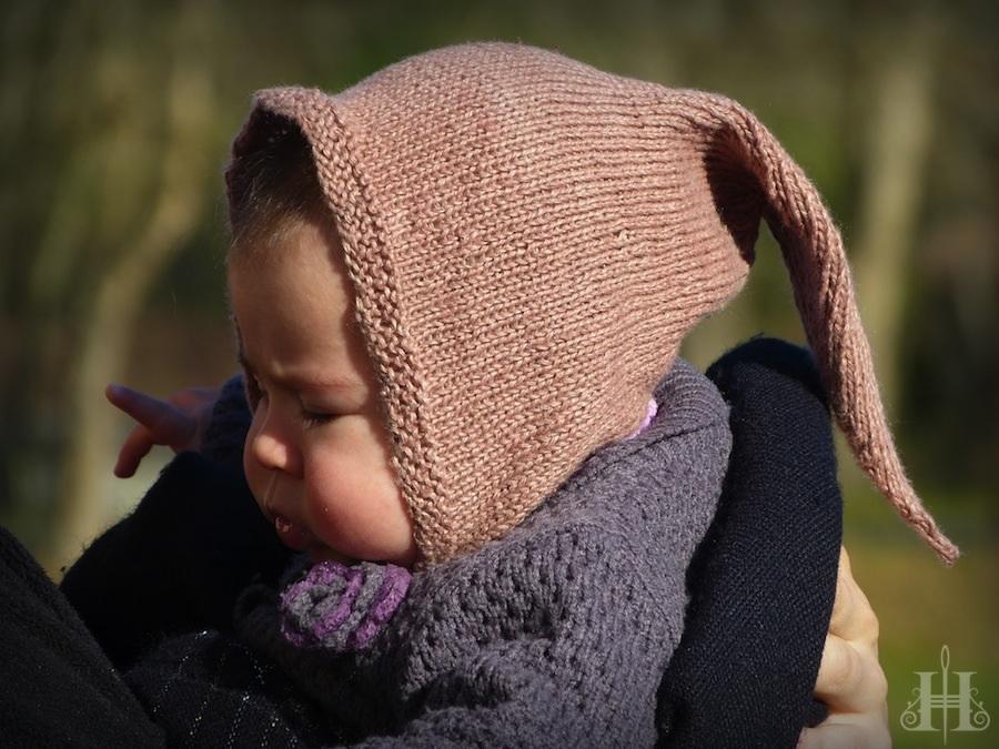 patron tricot bonnet lutin