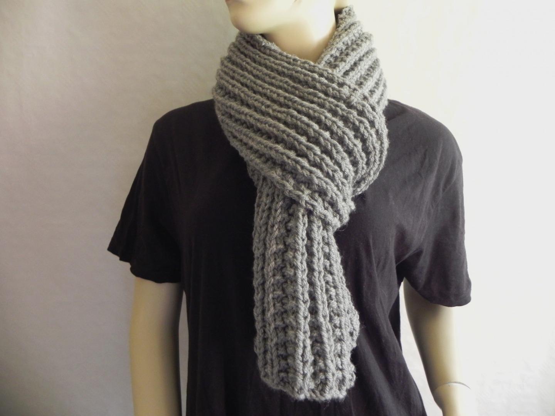 Mod le grande echarpe tricot - Tricoter une echarpe homme ...
