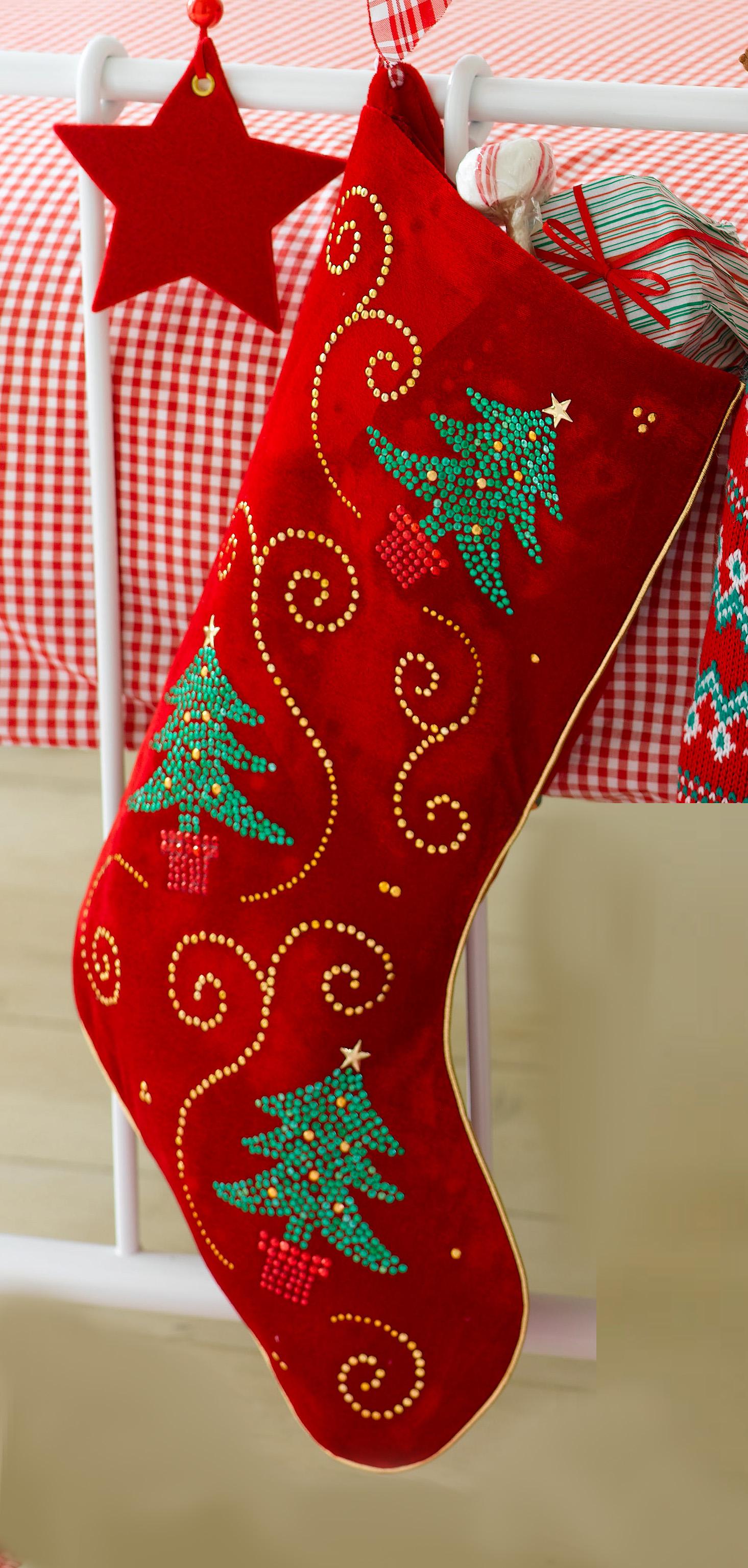 #830705 Modèle Tricot Chaussettes Noel 5523 décorations de noel tricot 1465x3073 px @ aertt.com