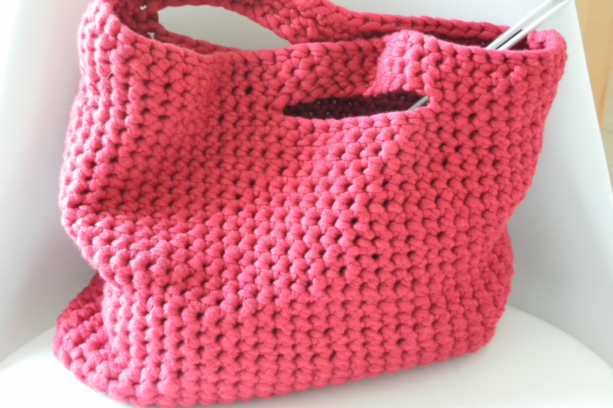 patron tricot sac
