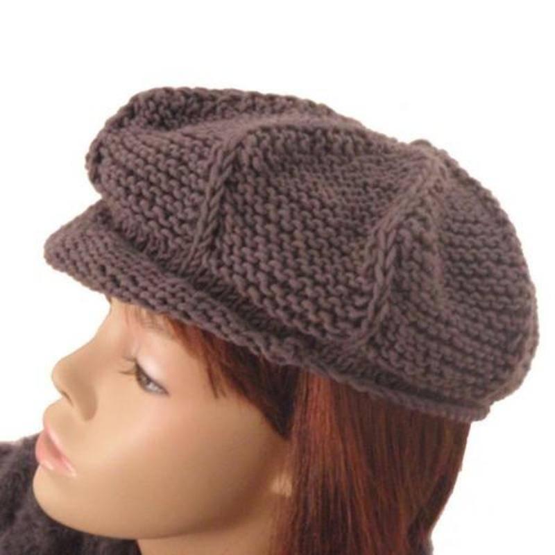 modele tricot casquette femme