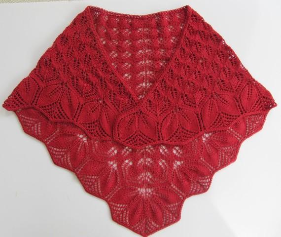 04d12171a9fc cliché modèle echarpe tricot dentelle gratuit