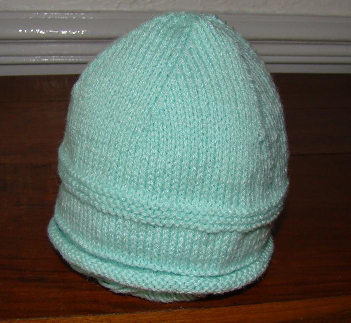 e6756df7b167 Cliché modèle tricot bonnet de naissance