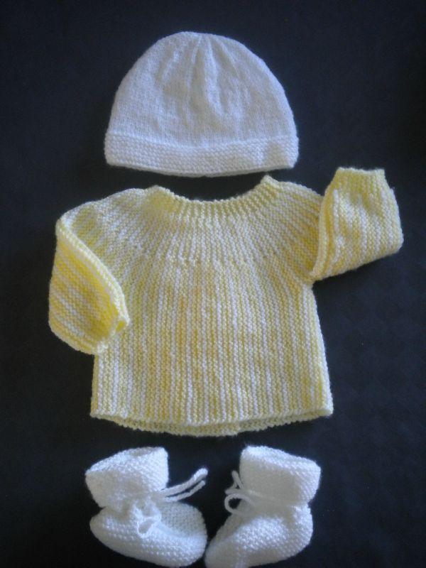 Mod le tricot layette facile - Modele mitaine tricot facile ...
