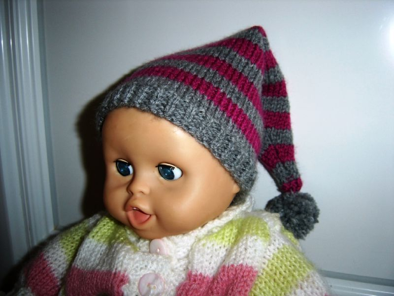 tricoter un bonnet de lutin
