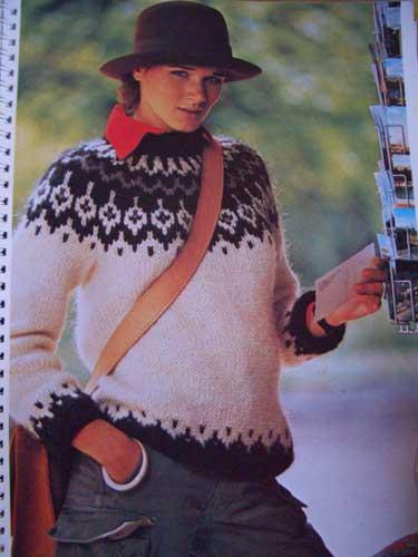modele tricot nordique femme