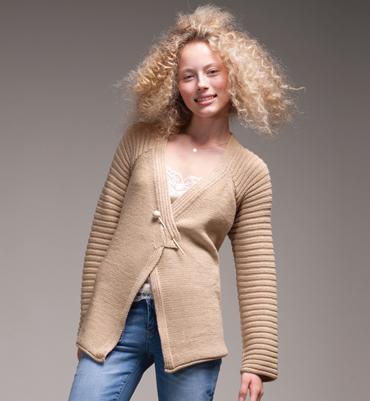 exemple mod le veste tricot pour femme. Black Bedroom Furniture Sets. Home Design Ideas