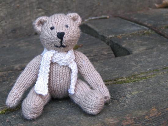 Patron ourson tricote - Animaux en tricot facile ...