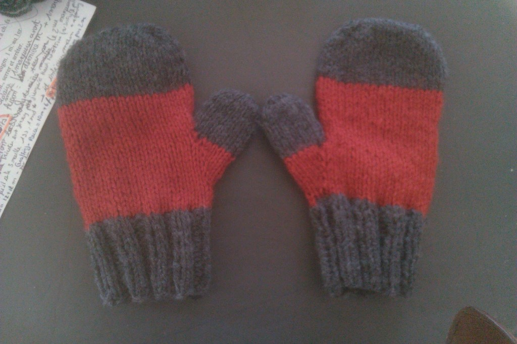 modele moufle tricot 4 ans