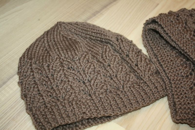 tricoter une echarpe pour adulte
