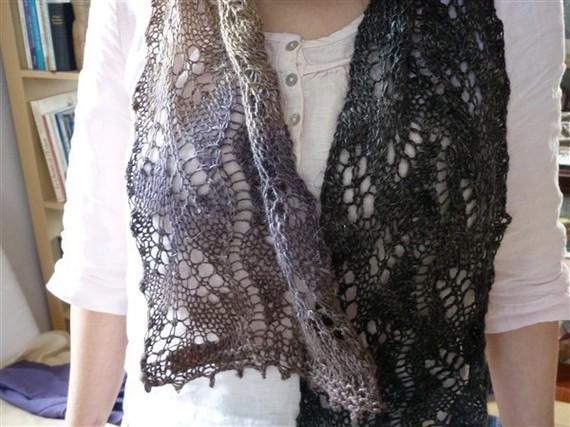 fbab918ce0dc explication modèle tricot echarpe etole