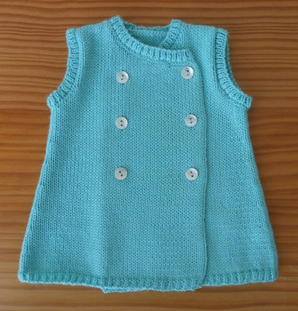 modèle tricot robe pour bébé gratuit