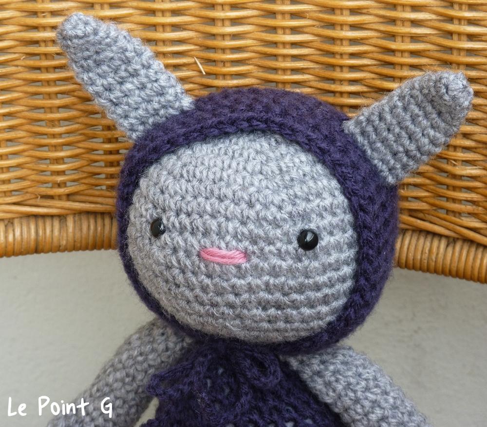 patron doudou au tricot
