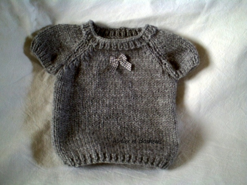 modele tricot 36 mois
