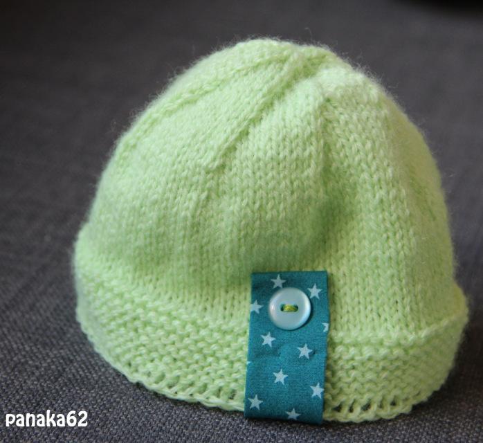 modele bonnet tricot naissance