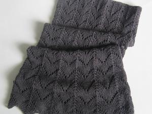 patron tricot dentelle gratuit