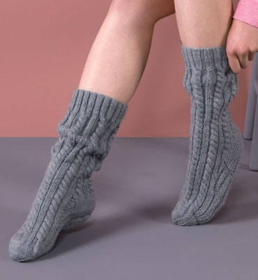 modele tricot chaussettes homme