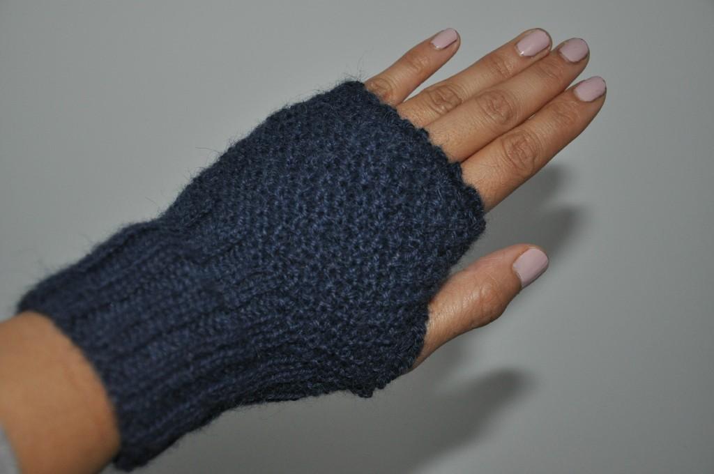 modèle tricot mitaines homme