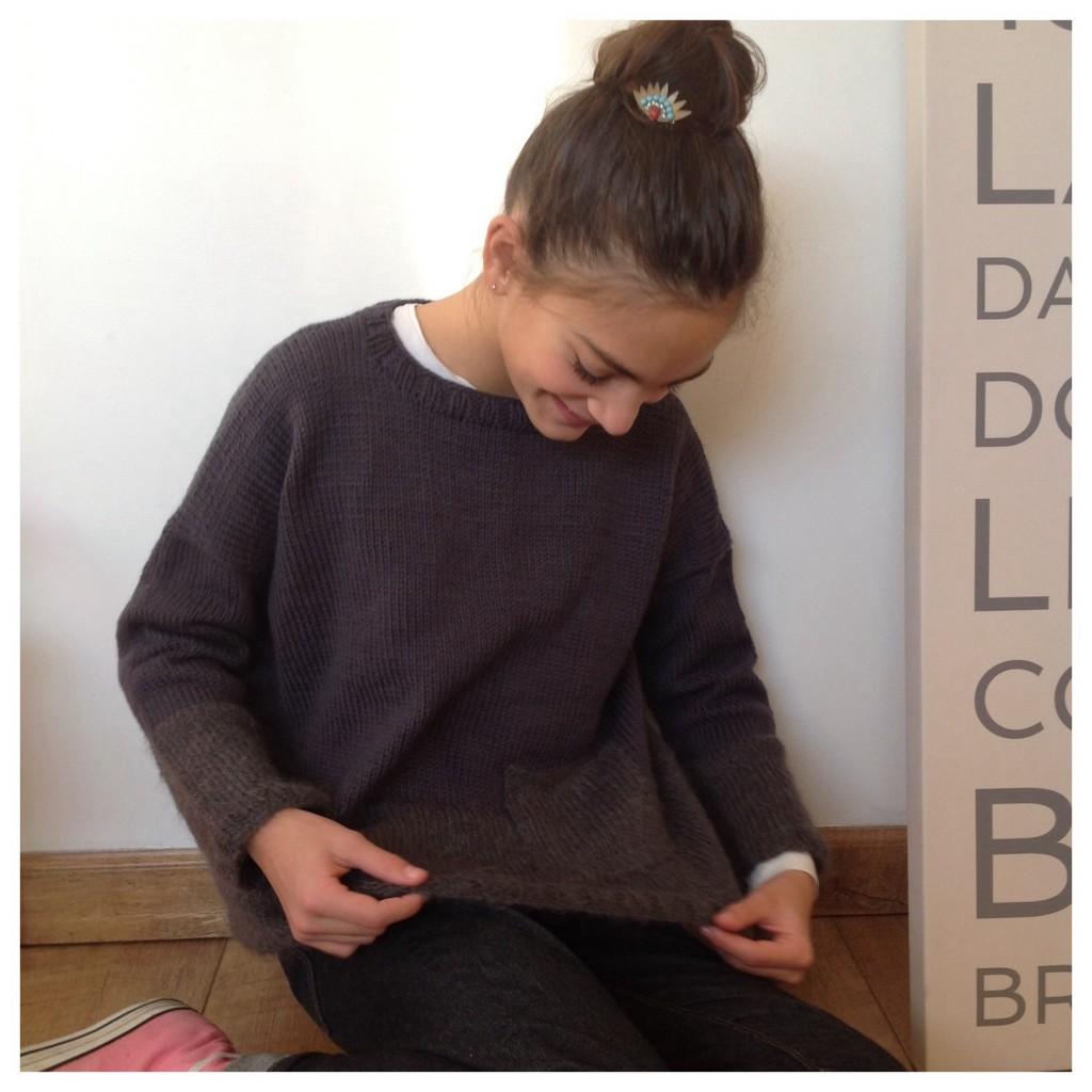 modele tricot ado
