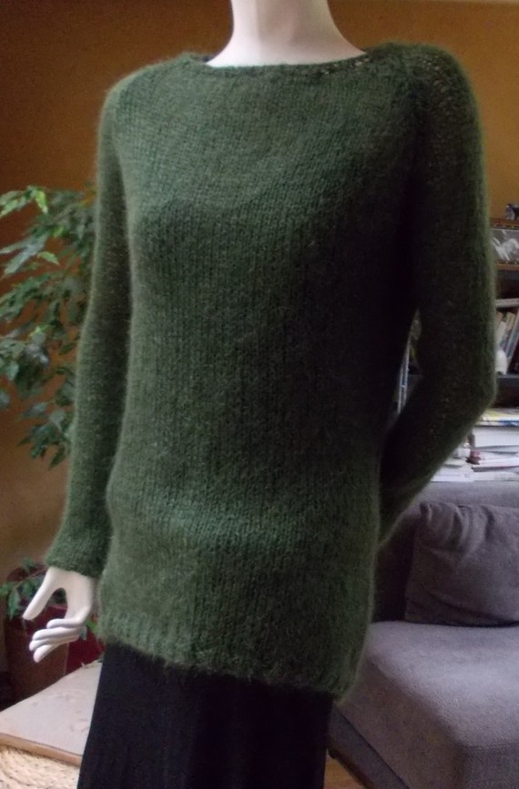 modele encolure tricot