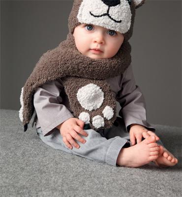 modèle tricot echarpe hello kitty