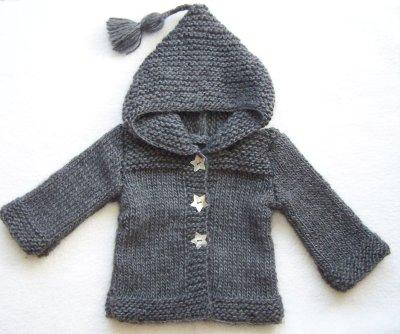 modele tricot pull bebe debutant