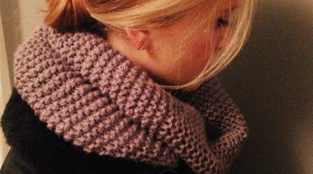 comment tricoter une echarpe boule
