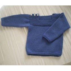 modèle tricot pull garcon 6 ans