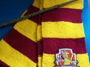 comment tricoter une echarpe harry potter