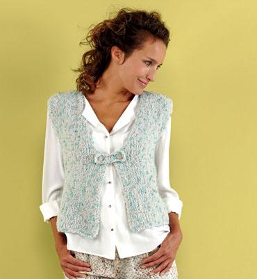 affichage patron tricot gilet sans manche femme gratuit. Black Bedroom Furniture Sets. Home Design Ideas
