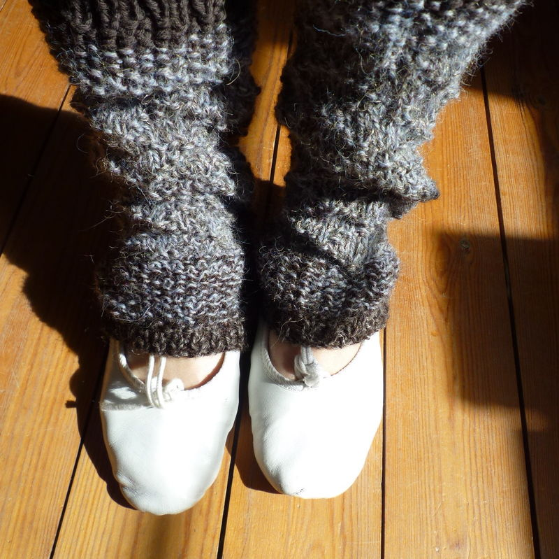 jambieres tricot modeles