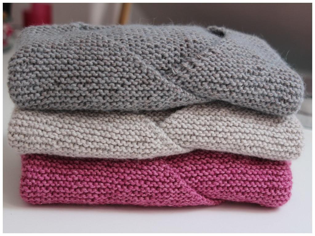 modèle tricot layette ete