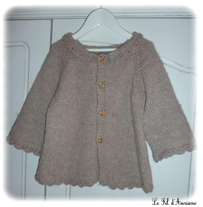 modele tricot gratuit fille 8 ans