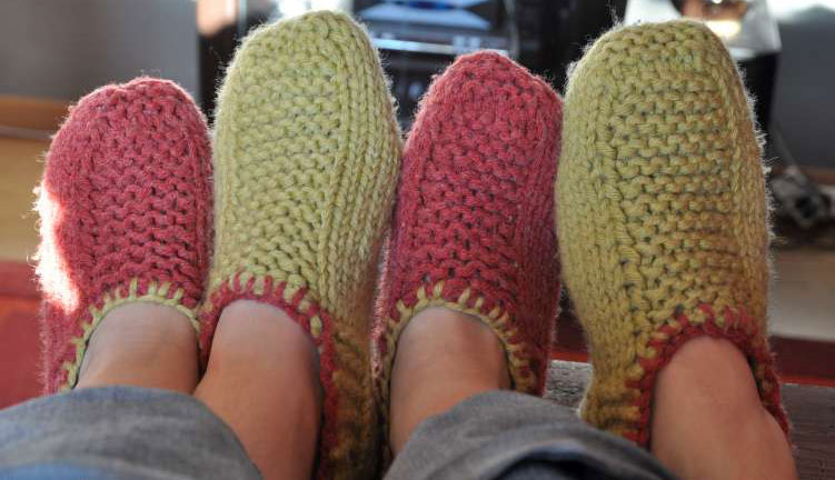 modèle gants à tricoter