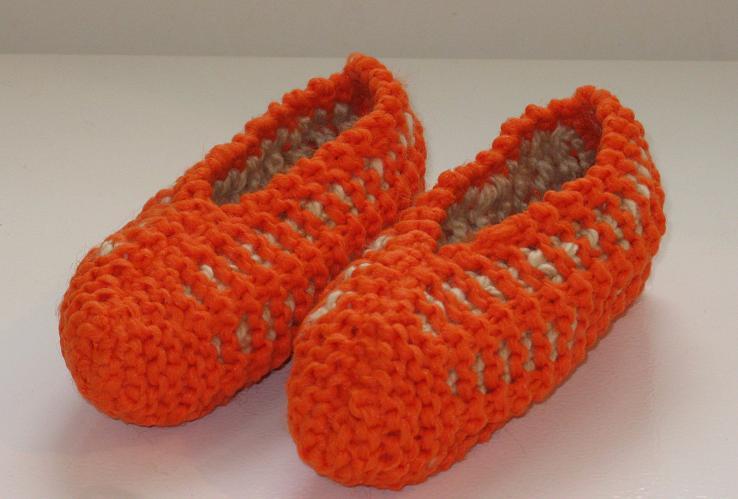 modèle tricot pantoufle phentex