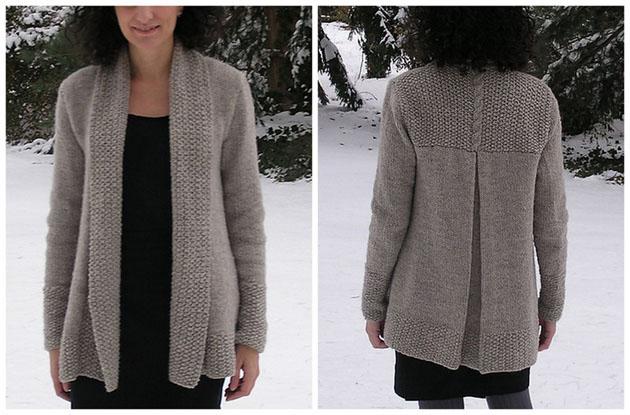 tricoter veste