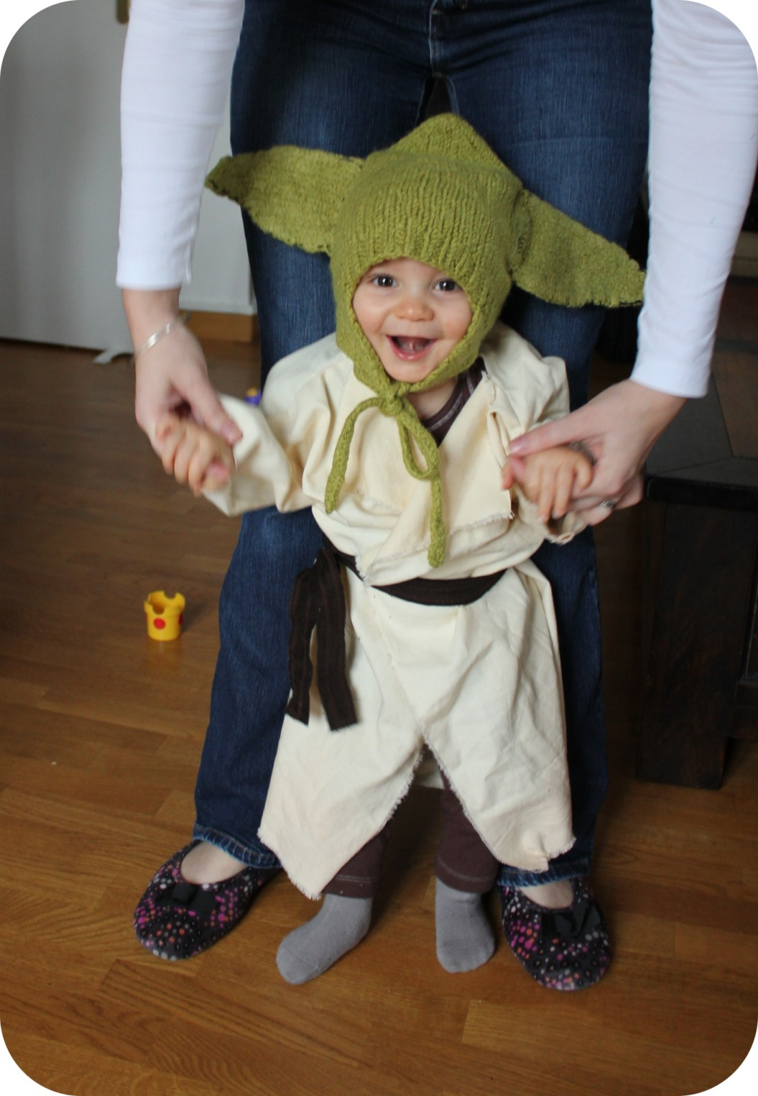 tricoter un bonnet yoda