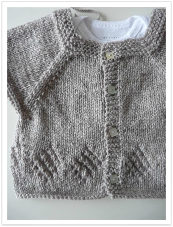 Mod le tricot b b bergere de france for Bergere de france miroir