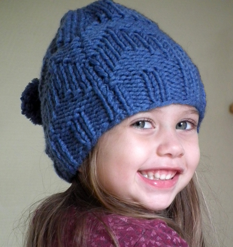 modele tricot bonnet fille 10 ans