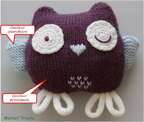 patron tricot doudou