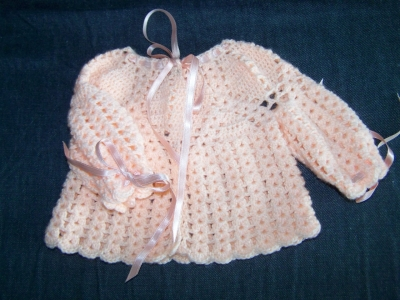 modele crochet layette